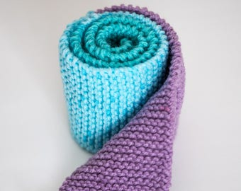 Mermaid's Cove Children's Knitted Scarf