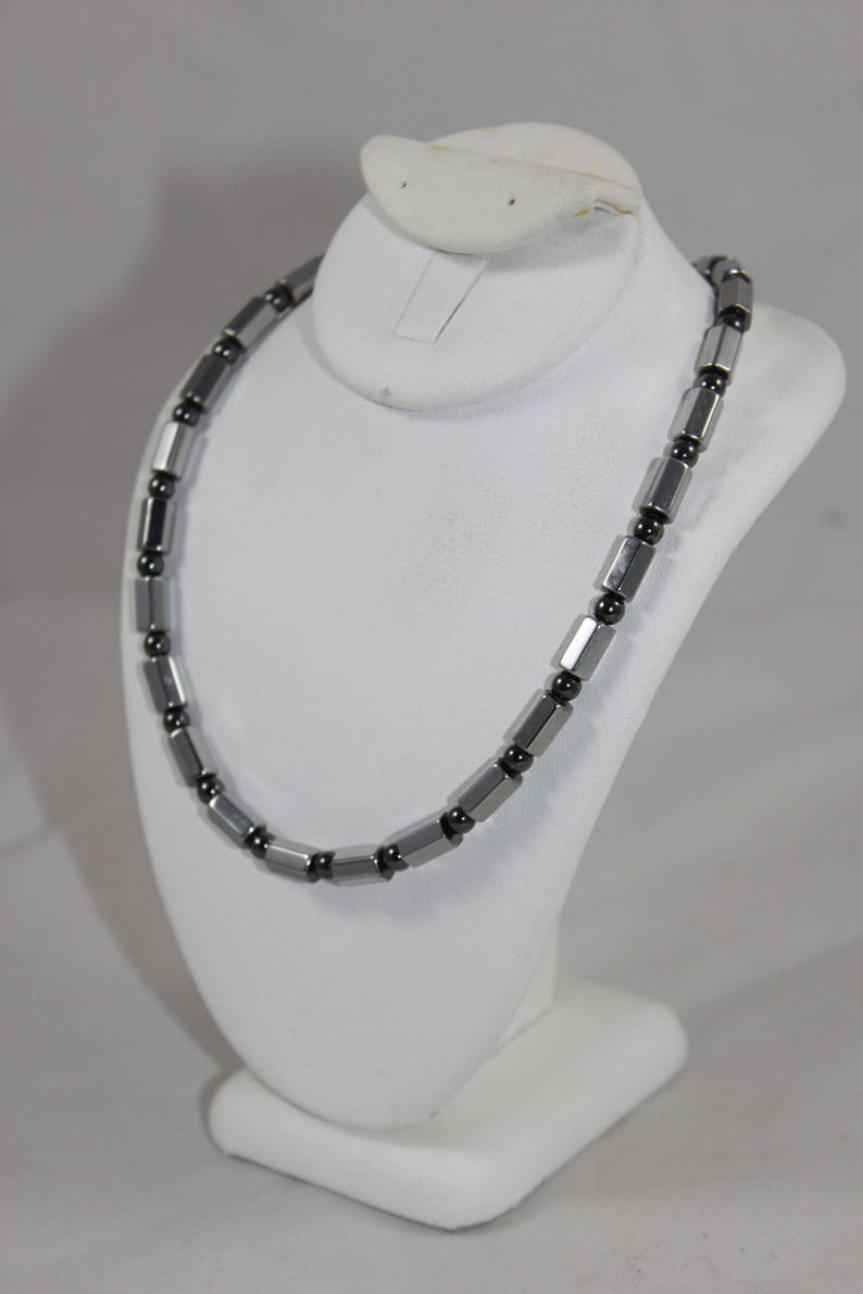 Magnetite Therapeutic Magnetic Necklace Magnetite NOT Hematite  Handmade