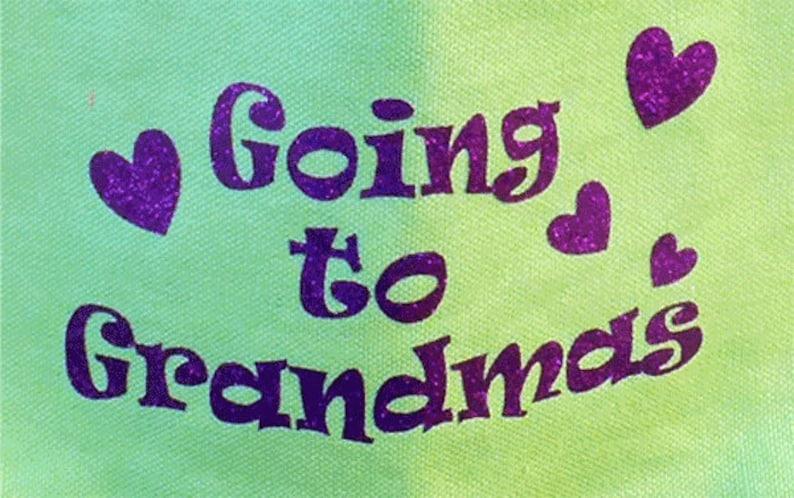 Going to Grandmas Girls Totebag