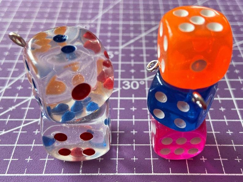 Casino Game Night Dice Game Earrings Board Game