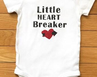 Little heart breaker | Baby girl & boy onesie