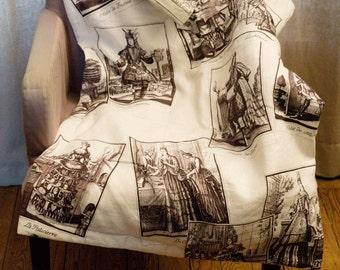 Decorative Plaid fabrics publishers old UNIQUE PIECE, REVERSIBLE crafts patterns