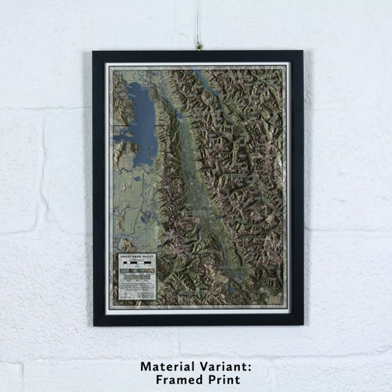 Seeley Swan Valley, 12x16 inch Map