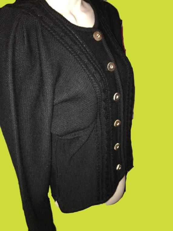 Vintage/Retro Women's Boos Austrian sweater