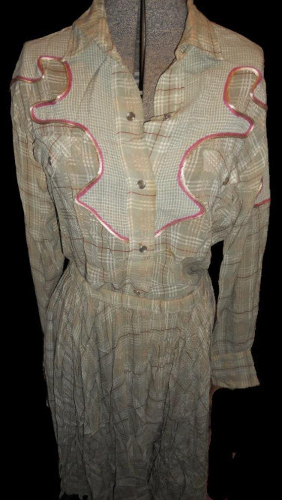 Vintage/Retro  100% Silk Koos van den Akker outfit