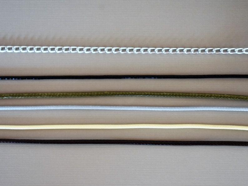 Peridot Cabochon Setting Necklace