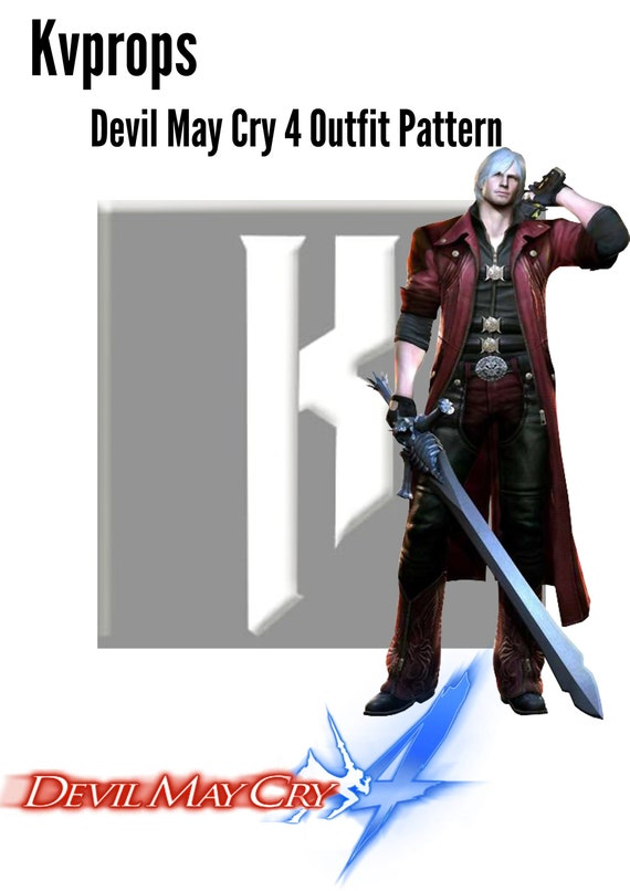 Devil May Cry 4 Dante Outfit Pattern