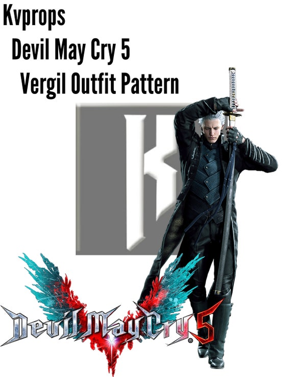 Devil May Cry 5 Vergil Outfit Pattern
