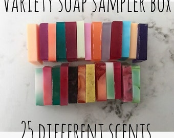 Variety Soap Sampler Box