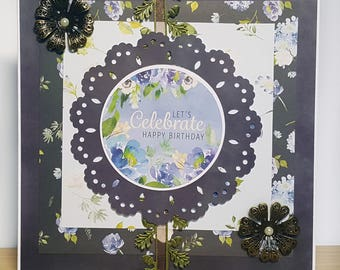 Let's Celebrate: Happy Birthday Handmade Birthday Card