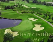 Father's Day, DIY, Golf Theme, Do-it-Yourself Prints, Gift Idea, Photography, Digital Download, Print