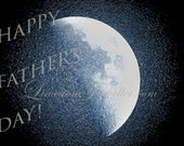 Father's Day, DIY, Moon Photo, Astronomy Photography, Do-it-Yourself Prints, Gift Idea, Photography, Digital Download, Print