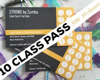 Class pass | Etsy