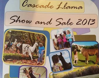 Llama Auction Catalog Back issues - 2013 (24 pages)