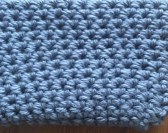 Crocheted credit card holder