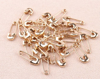 20 50 100 500pcs 19mm Small Metal Safety Pins Findings Craft Sewing Hat Knit