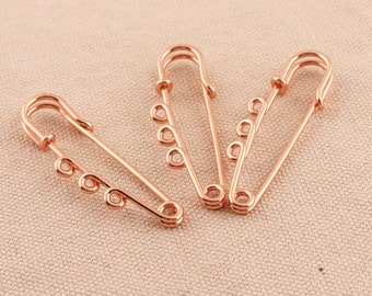 """20-3/"""" inch Gold Safety pins x large huge skirt kilt  tag broach Jewelry fashion"""