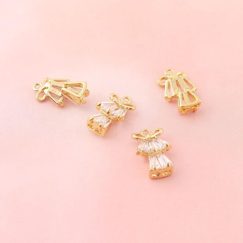 Metal Charm,Rhinestone Charms Pendants 18k gold Charms,silver Bracelet Charms Jewelry Supplies Earring Charm