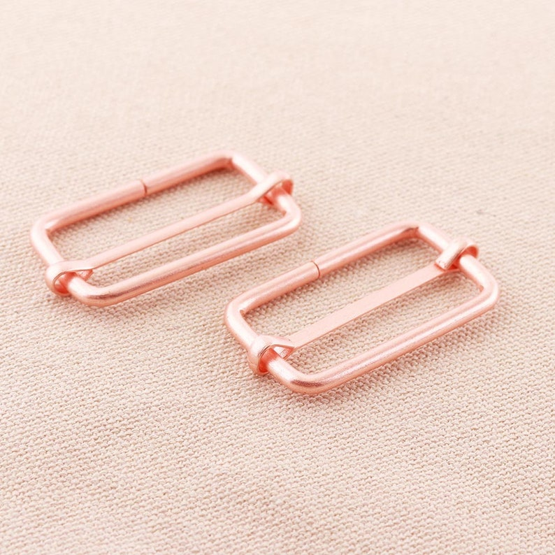 Adjuster pin buckle Strap Buckles rose gold Belt Buckle Belf buckle Single Prong Strap Pin buckle purse buckle