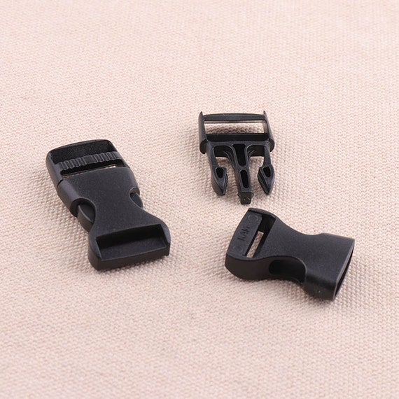 Large Black Metal Bra Slide Suspender Regulator//Adjuster Garter Belt Supplies