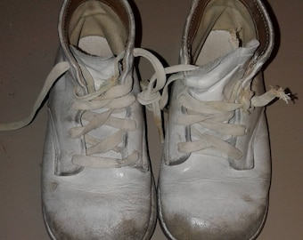 ead76207ca49 Haunted Vintage Baby Shoes. For The True Macabre Fanatic! Haunted Object.  Active. Dark. Free Story Print.
