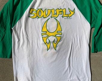 Soulfly 2000 Raglan T-shirt