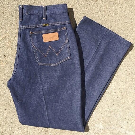 Wrangler Blue Jeans 60s/70s