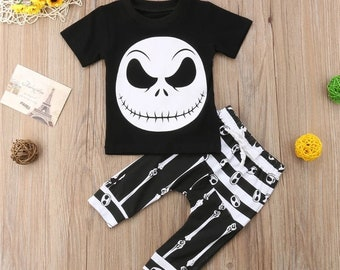 nightmare before christmas jack skellington baby outfit