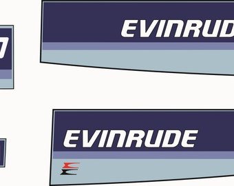 Evinrude Outboard Etsy