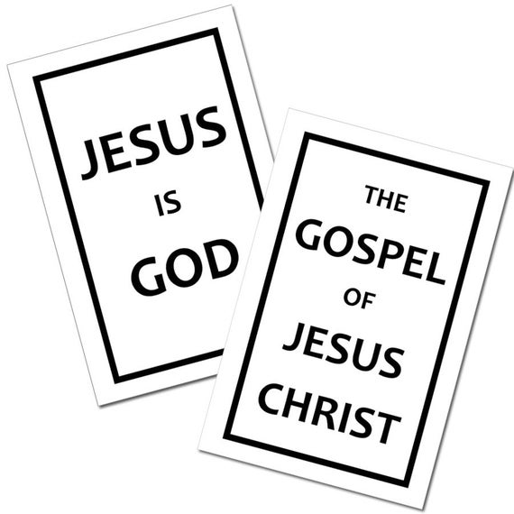 photograph about Printable Gospel Tract referred to as Printable Gospel Tracts - Electronic Obtain
