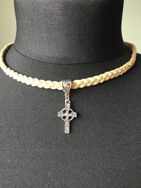 Celtic cross pendant with spiritual meaning etsy image 0 aloadofball Choice Image