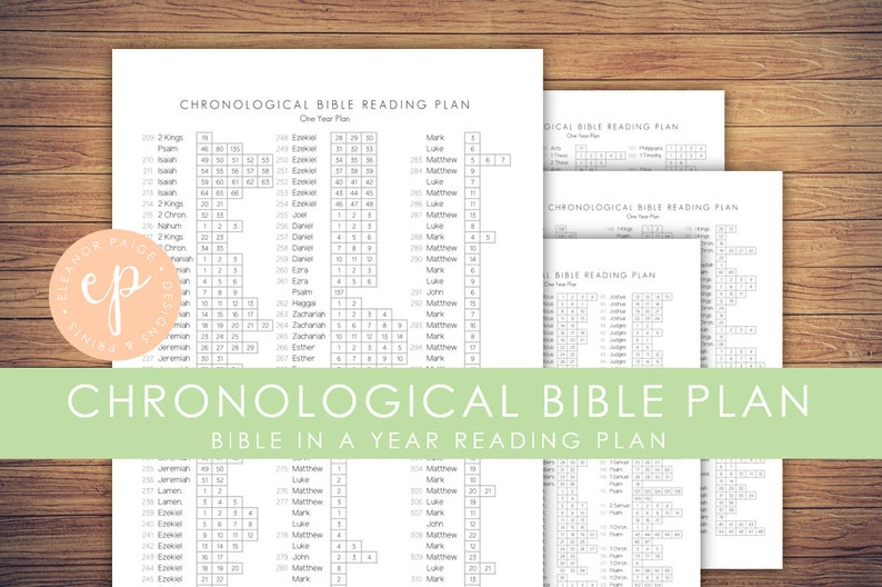 photo regarding Chronological Bible Reading Plan Printable identify Chronological Bible Studying Method Printable Day by day Scripture Examining Application  365 Examining System Christian Bible Planner A4 Letter Measurement