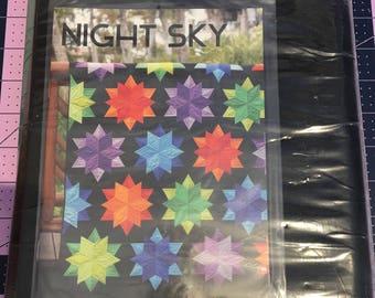 Jay Bird Quilts Night Sky Quilt Kit
