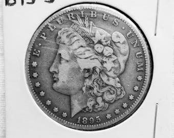 Morgan Silver Dollar 1895 S