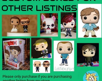 Custom funko boxes for my other listings