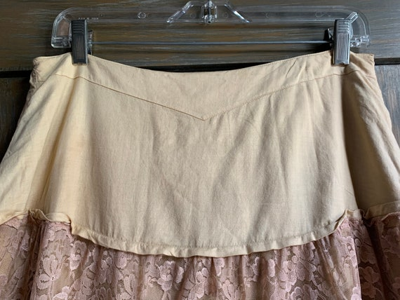 Vintage Lace Tiered skirt - image 3