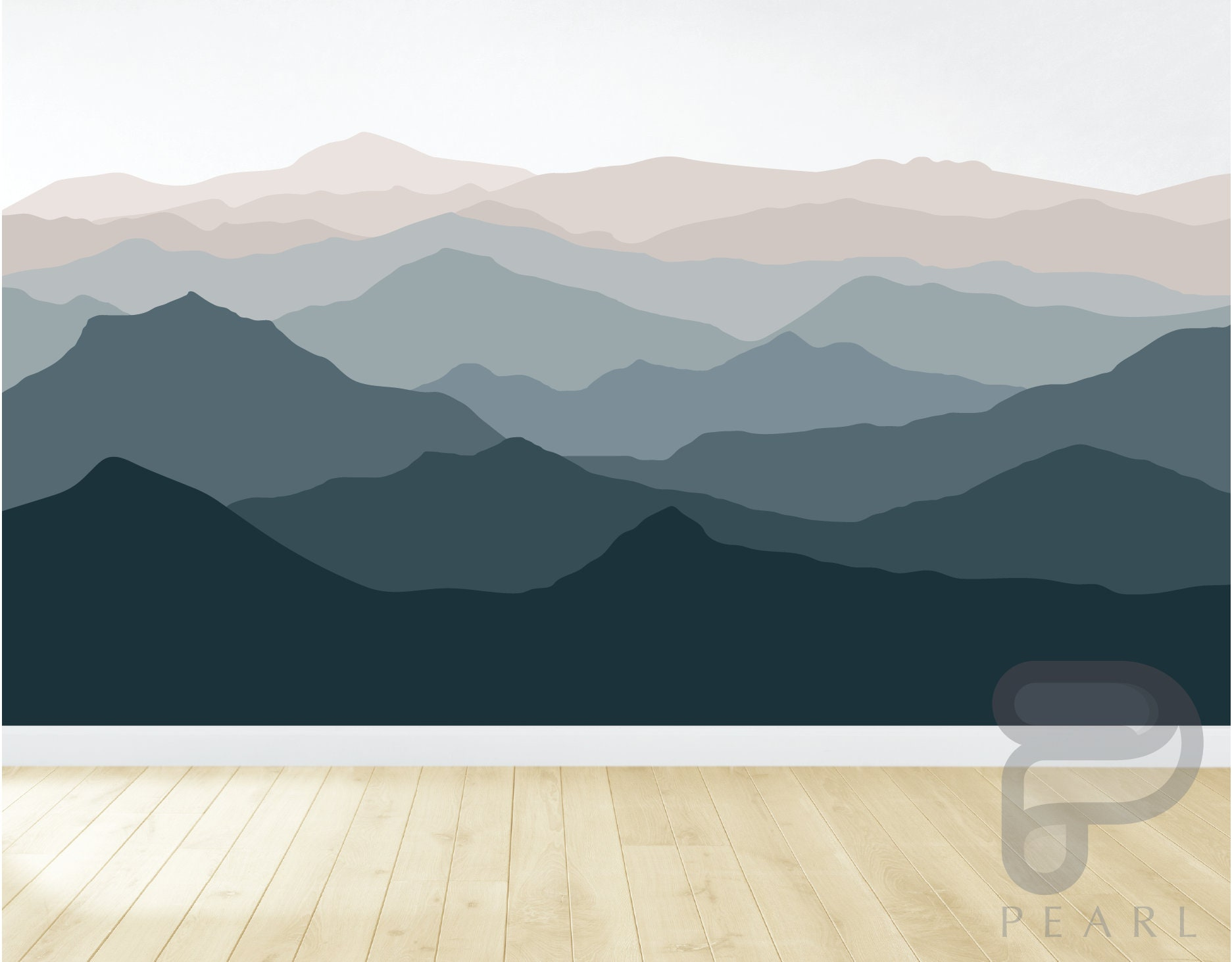 Details about  /3D Art Mountain N802 Wallpaper Wall Mural Removable Self-adhesive Sticker Amy
