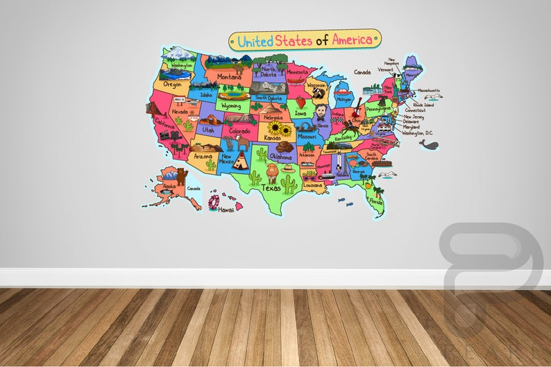 USA Map Wall Decal / United States Wall Decal / Clroom Wall Decal / Decals Usa Map on usa map paint, usa map clip, usa map license plate, usa map wall, usa map banner, usa map label, usa map hat, usa map design, usa map wood, usa map vinyl, usa map poster, usa map clock, usa map frame, usa map decor, usa map book, usa map illustration, usa map panel, usa map guide, usa map mural, usa map shirt,