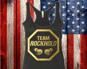 Team ROCKHOLD MMA Fighting Women's Tank Top