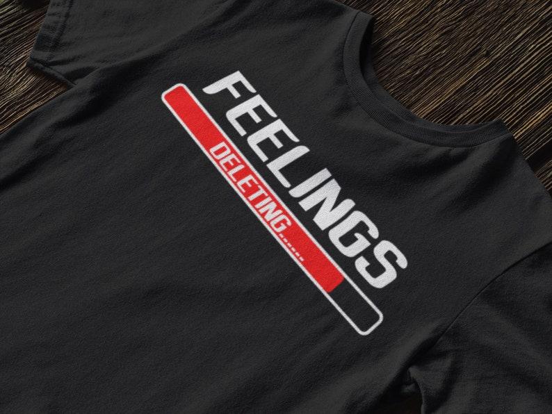 40f5bec61 Feelings Deleting Funny Couple Shirt Women Men Gift Love is   Etsy