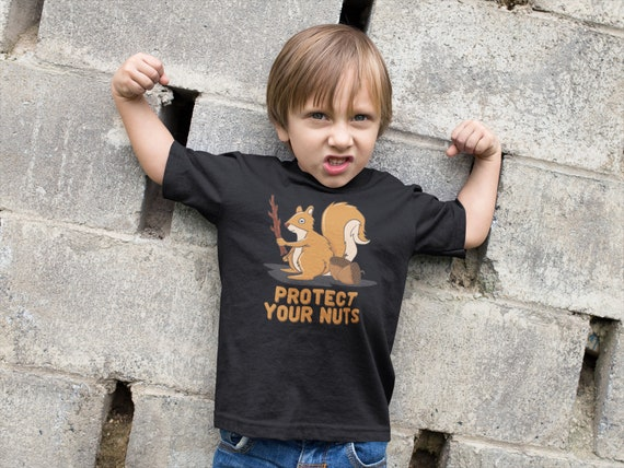 Squirrels On Tree 2-6 Years Old Child Short-Sleeved T-Shirt