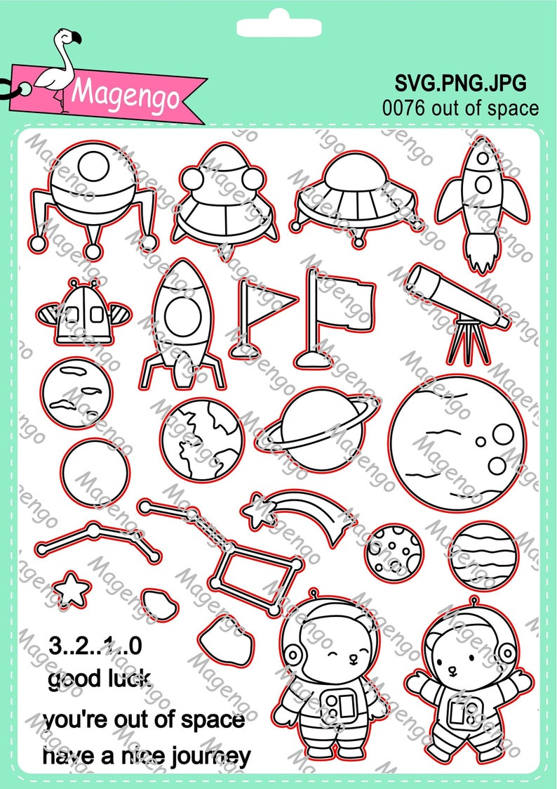 stamps,svg files,printable photo,silhouette files,cut files,birthday gift,planets,craft supplies,digital stamp,space,handmade cards,gifts