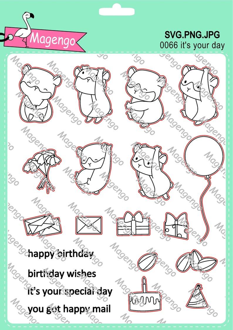 Briefmarken Svg-Dateien druckbare Foto Silhouette Dateien Bild 0