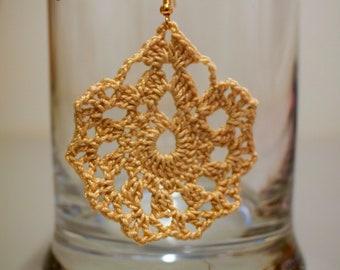 Crochet Earring Pattern
