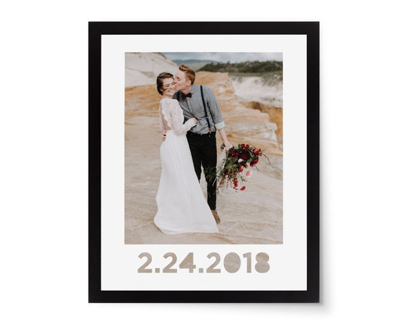 Custom Photo Mat Photo Frame Mat Picture Mat Custom Date | Etsy
