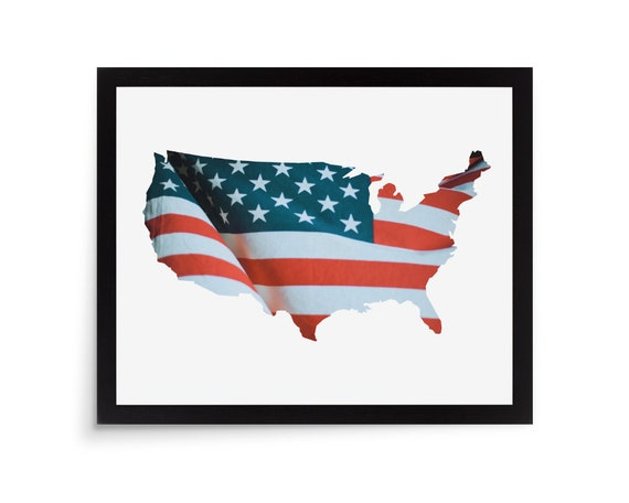 America Photo Mat Usa Picture Frame Photo Mat United States Etsy
