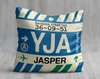 Travel Pillow,Luggage Tag Art,SYD Airport Code SYD Cushion Sydney Pillow Aviation Art,Airport Code Cushion Australia Travel Art Souvenir