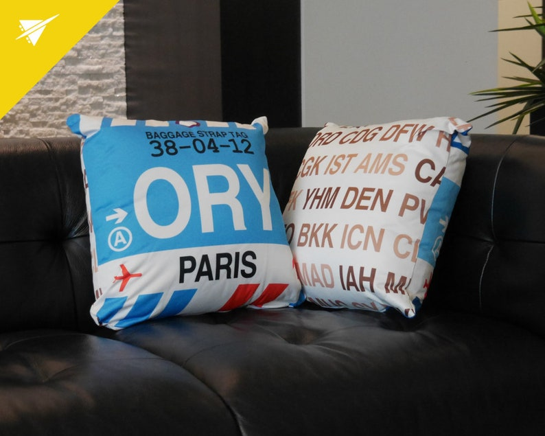 EL PASO Throw Pillow ELP Airport