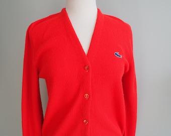 576ea7d8b348c Vintage 60s LaCoste Tennis Sweater