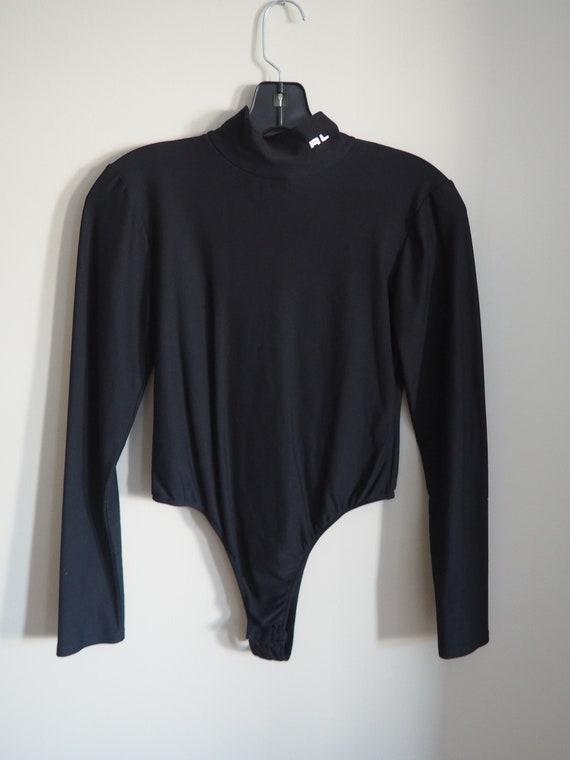 80s Vintage Ralph Lauren Bodysuit, Designer Vinta… - image 6